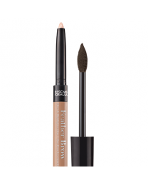 Eye Booster Feather Brow Fiber & Highlighter Duo - Brunette
